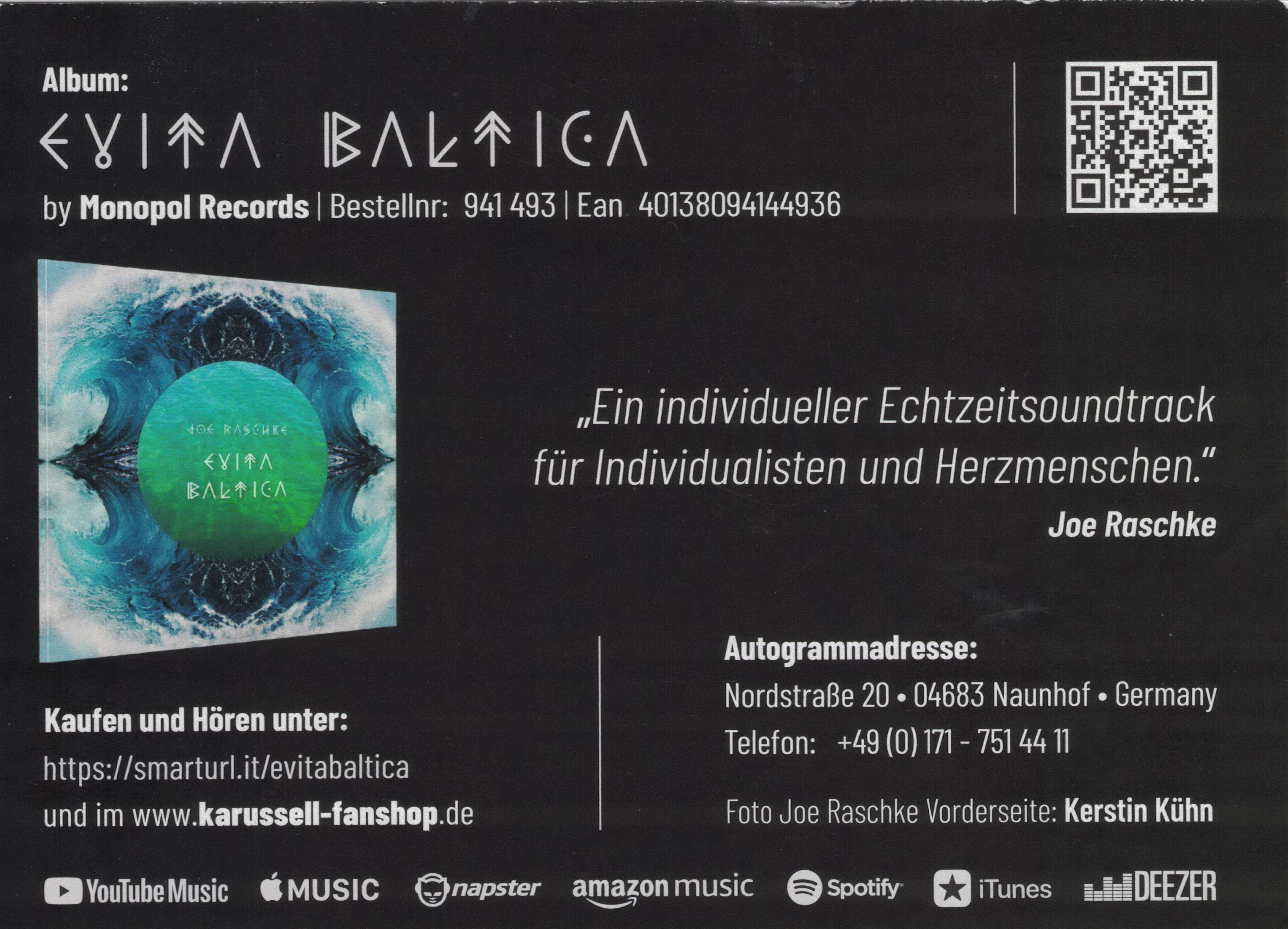 Autogrammkarte_Joe_Raschke_2021_Evita_Baltica_RS