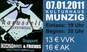 Eintrittskarte_2011.01.07_Munzig_Kulturhaus